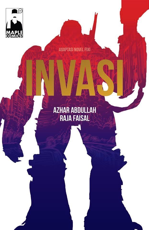 NOVEL GRAFIK INVASI
